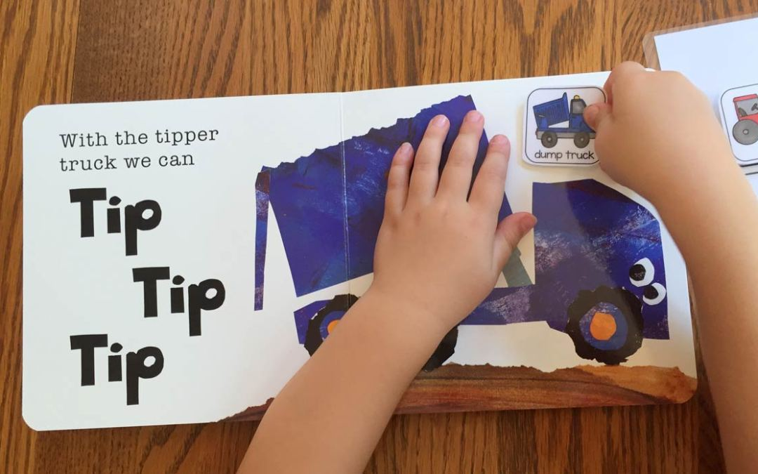 Tip Tip Dig Dig Book with Freebies