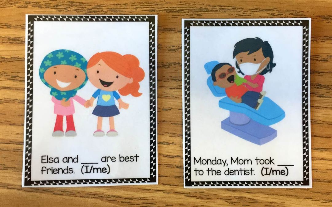 How to Use Task Cards When Teaching Grammar