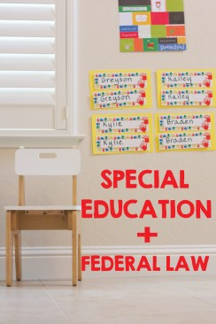 Federal Laws Protecting Special Education