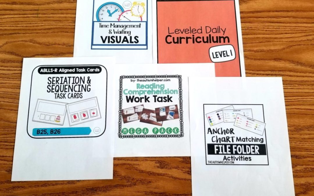 Focus on Five: Materials I'm Prepping for Next Year
