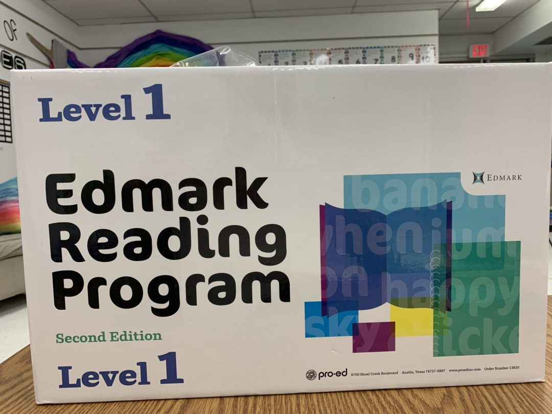 Using Edmark Reading Program