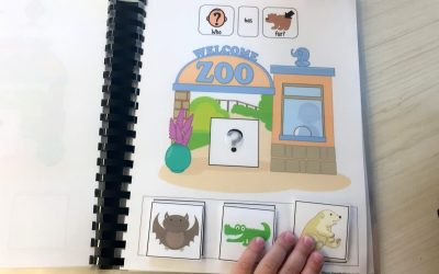 Guess the Zoo Animal! Adapted Book