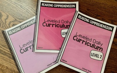 Reading Comprehension Curriculum