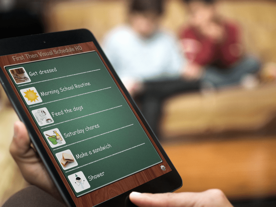 First, Then Visual Schedule App Tutorial {guest post}
