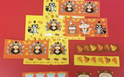 Focus on Five: Using Seasonal Stickers for Academic Activities