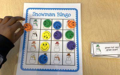 Free Snowman Bingo