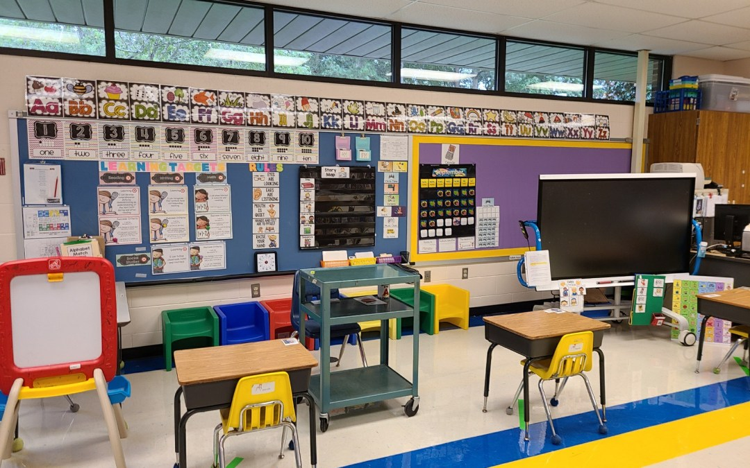 Face to Face Early Learning Classroom Set Up