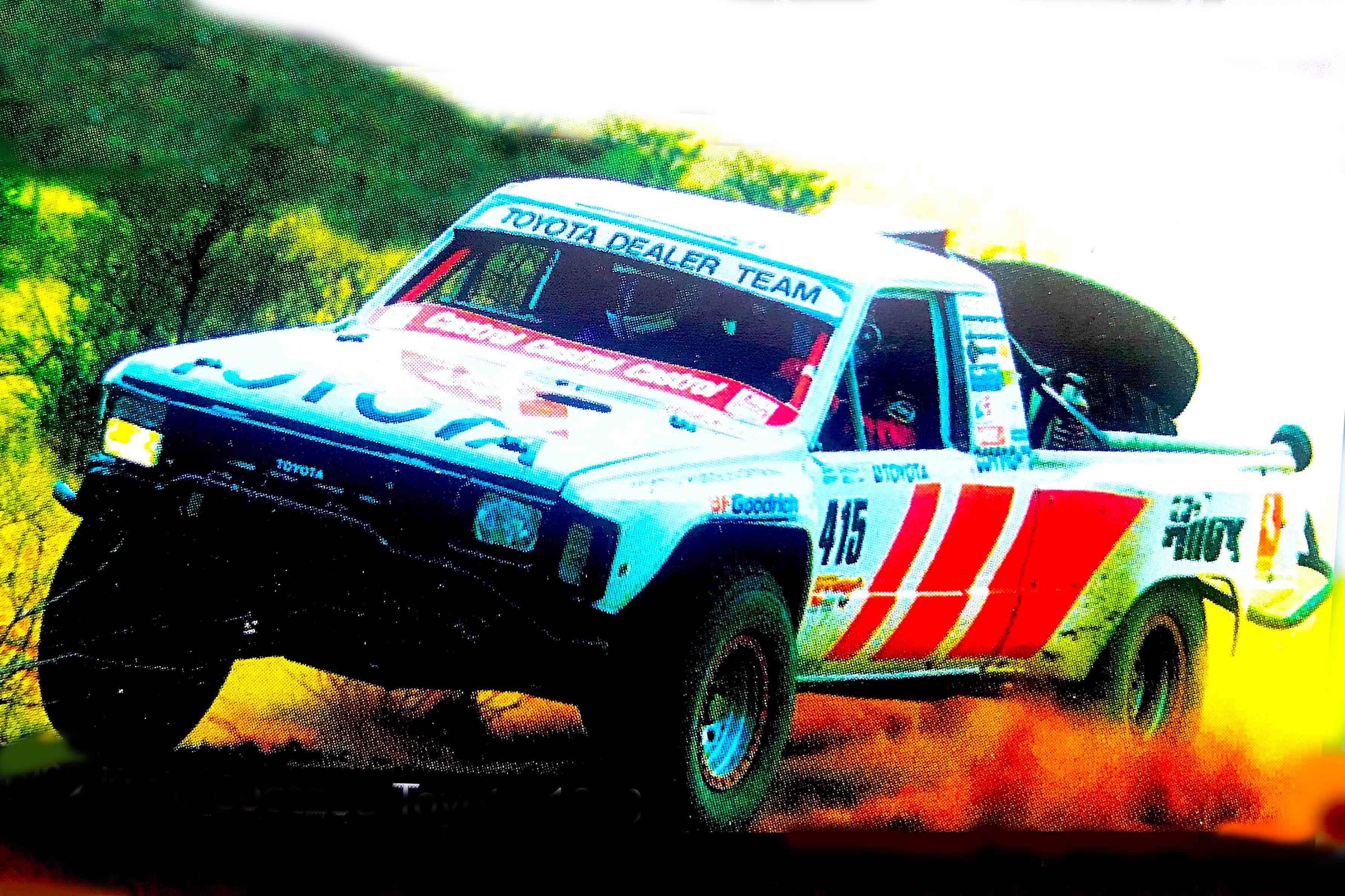 Coetzee '90 Toyota Desert Race