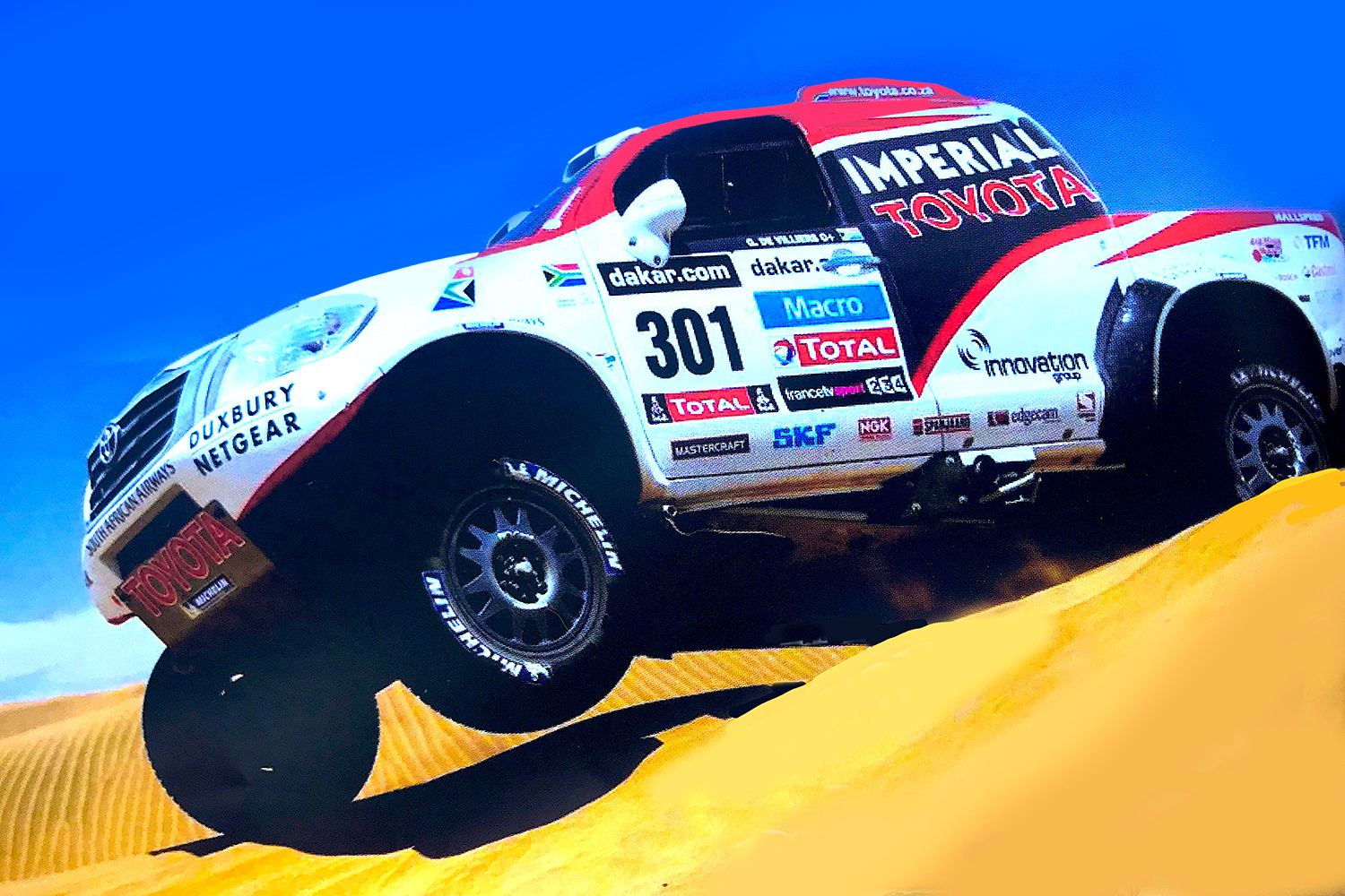 HILUX TO DAKAR – DOMINANT SA TEAM CHASES THE DREAM