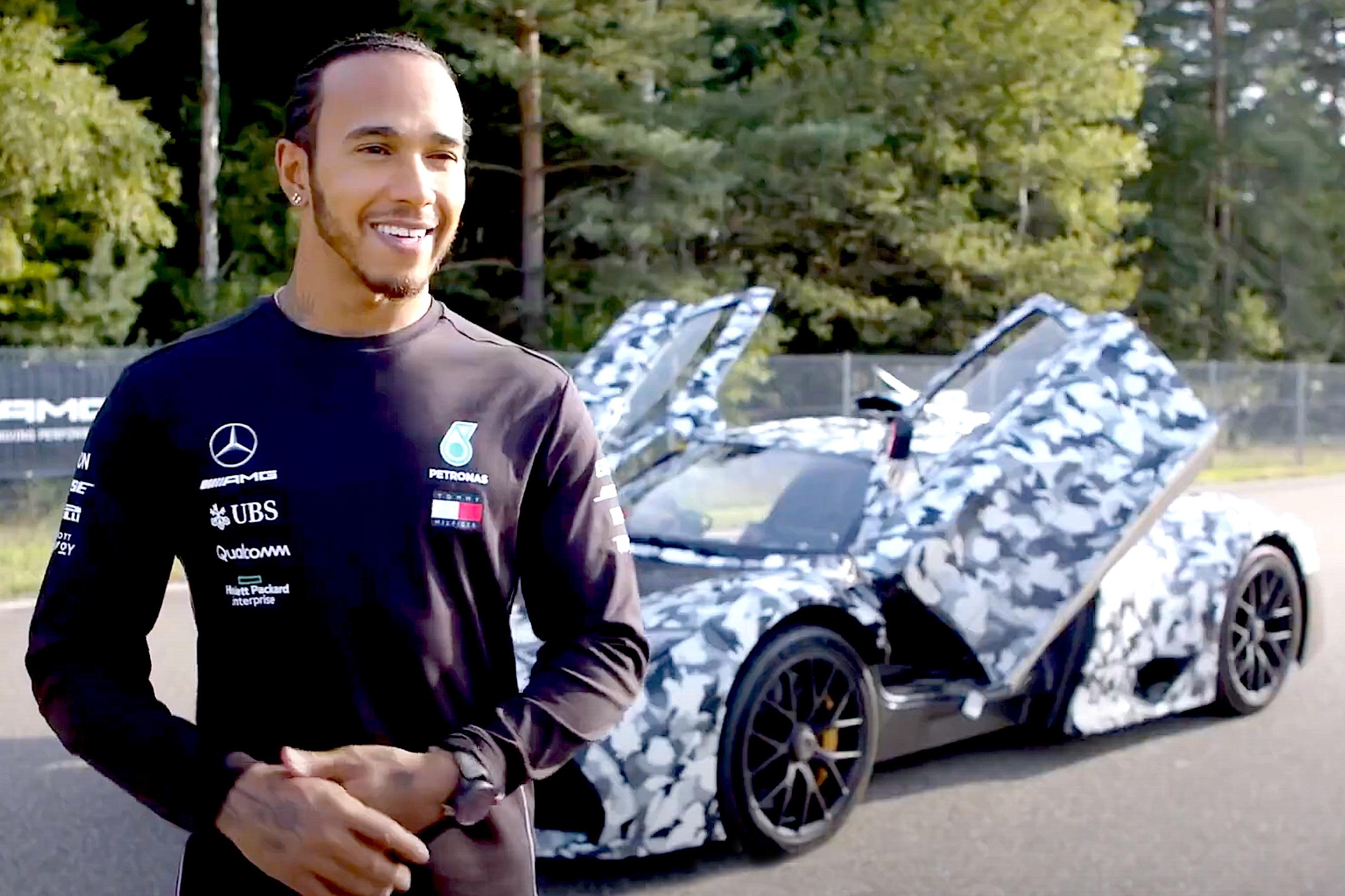 Lewis Hamilton AMG One