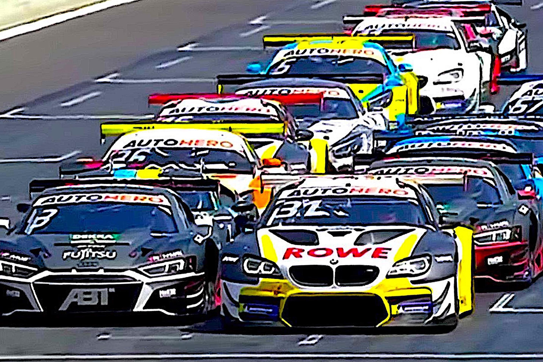 Van der Linde DTM grid 1-2