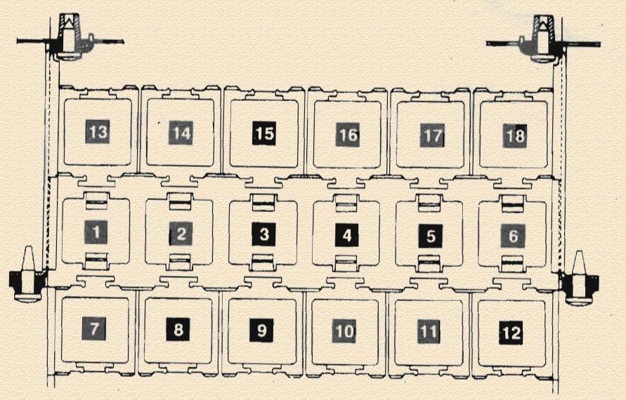 Вспомогательный монтажный блок №1