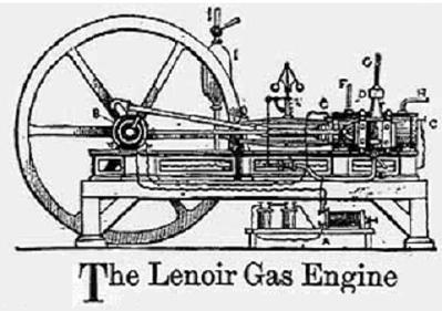 Первый двигатель внутреннего сгорания