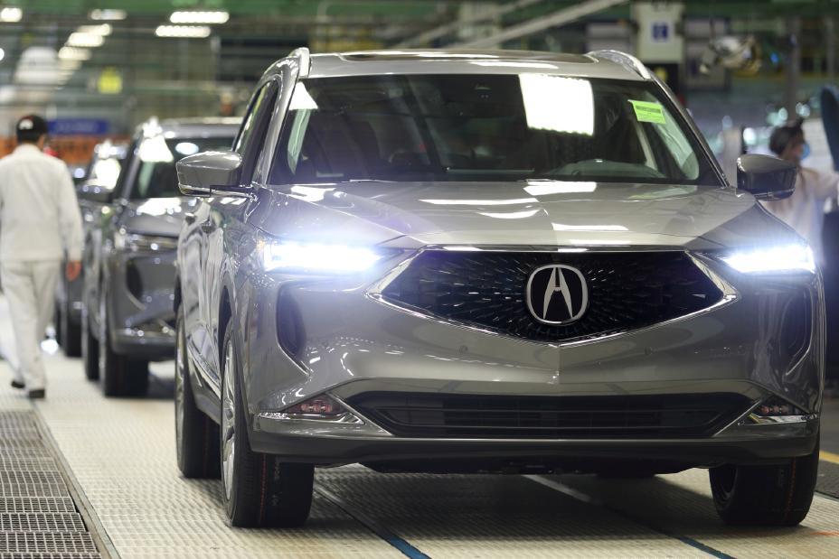 Сборка Acura MDX 2022 года