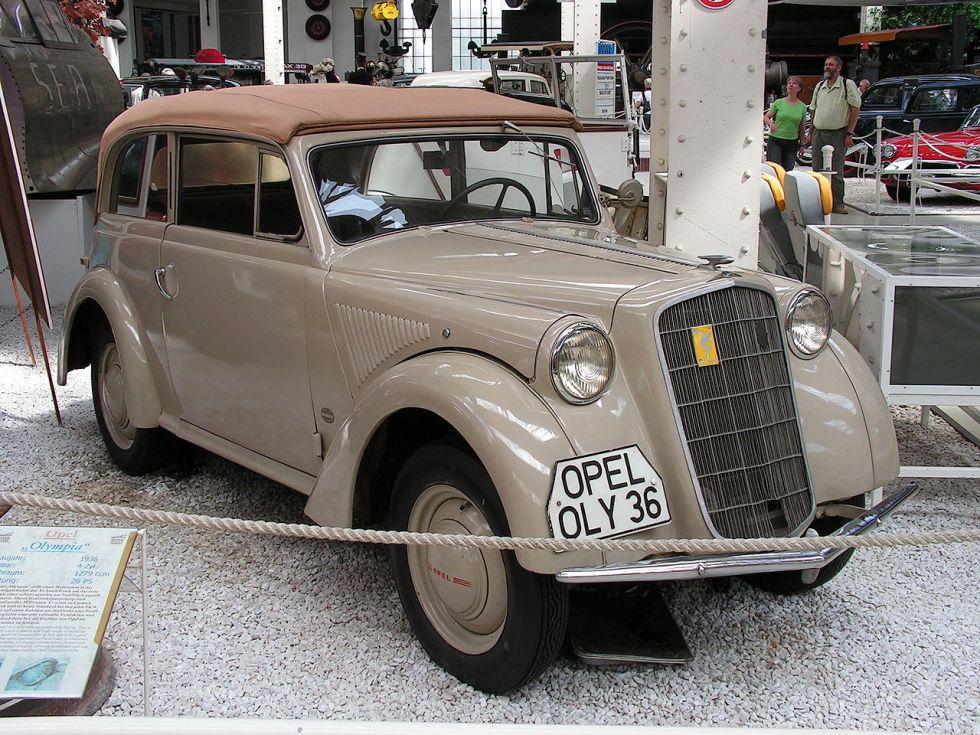 Опель Olympia Образца 1936 года