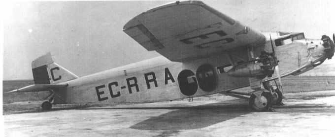 Ford 4-AT-F испанской авиакомпании