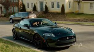 Callen's new Jaguar XKR-S