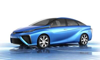 Toyota's Hydrogen Fuel Cell Vehicle
