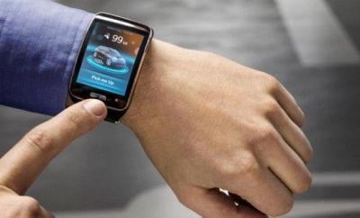 BMW smart watch app