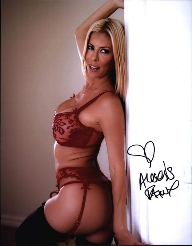 Alexis Fawx Signed Model 8x10 Photo Proof Certificate A0051