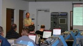Shawn teaching a SLC-500 (PLC) Class in 2005