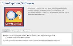 Drive Explorer Webpage