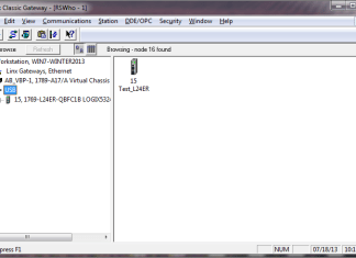 RSLinx USB Driver - RSWho finds L24