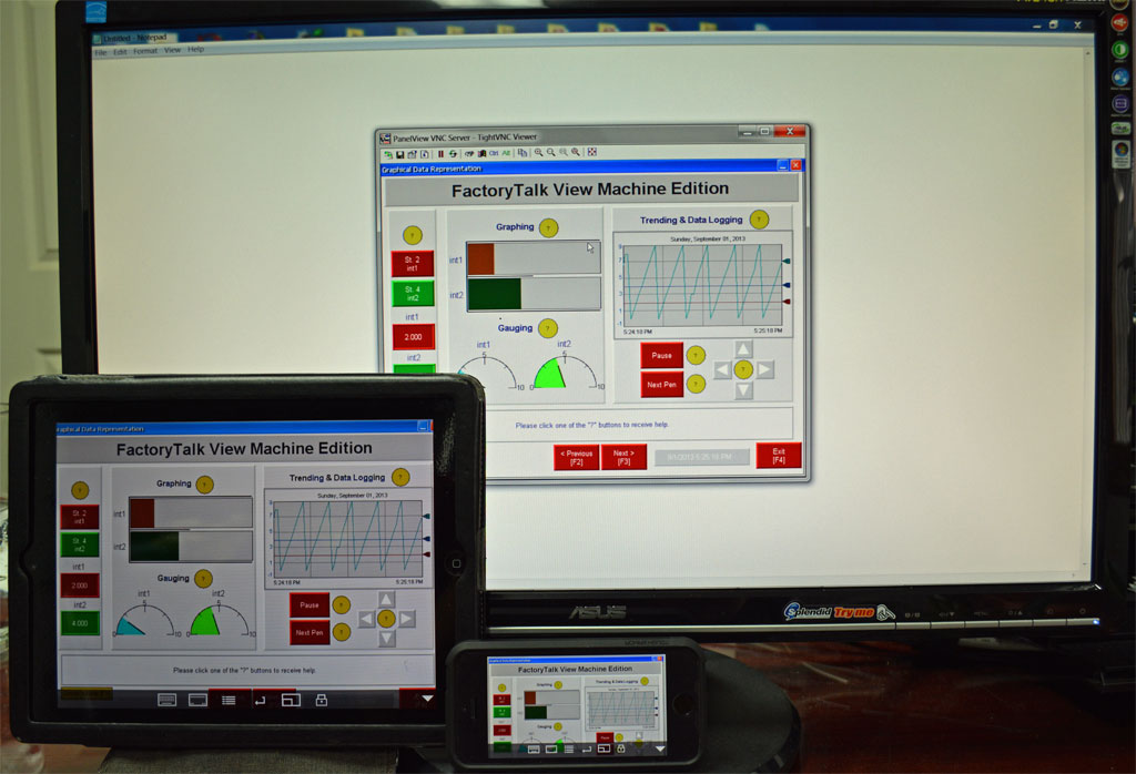 Remotely monitoring and controlling your Allen-Bradley PanelView