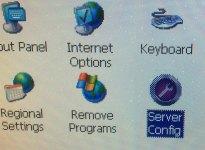 9 PanelView Plus 6 Control Panel Server Config Applet