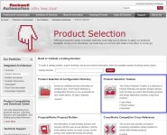 AB.com Product Selection Toolbox