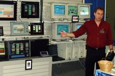 Shawn Tierney at Worcester Water Trade Show 2002
