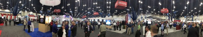 Automation Fair Show Floor Panoramic