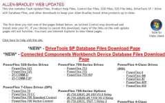 A-B Drives WebUpdates Snapshot 1
