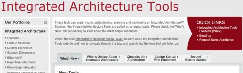 Integrated Architecture Tools