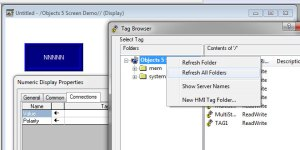 ViewStudio Tag Browser Refresh All Folders