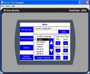 PanelView Component Emulator