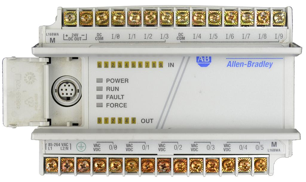 The Allen-Bradley MicroLogix 1000