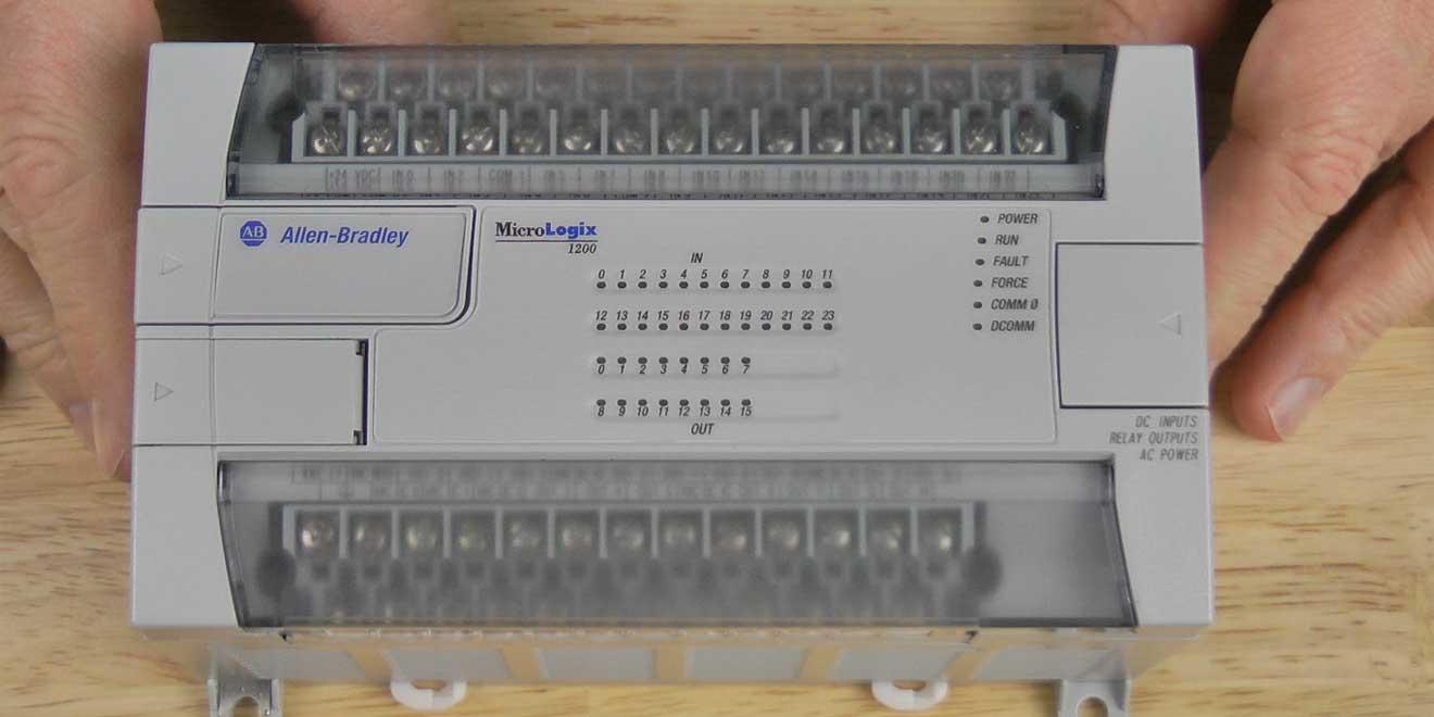 The Allen-Bradley MicroLogix 1200