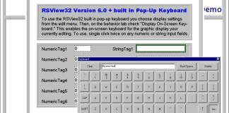 RSVIew32 Popup Keyboard Demo