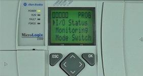 MicroLogix 1100 LCD