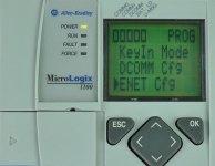 MicroLogix-1100-LCD-Advanced-Menu-ENET-Selected