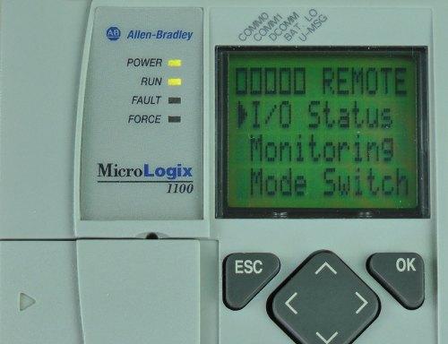 MicroLogix-1100-LCD-Menu