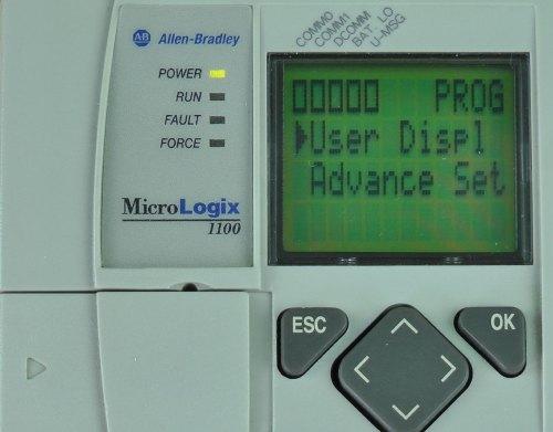 MicroLogix-1100-LCD-Menu-Page-2-User-Display-Selected