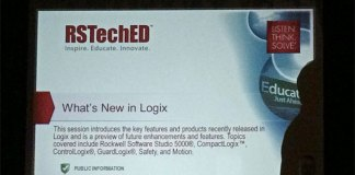What's new with Logix as seen at RSTechED 2014 Fi