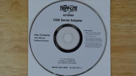 Tripp Lite Keyspan USB to Serial Driver CD