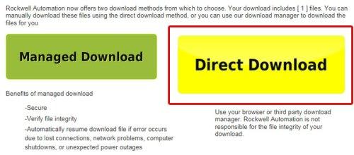 Download A-B PLC Firmware Step 11
