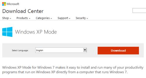 Windows XP Mode 01