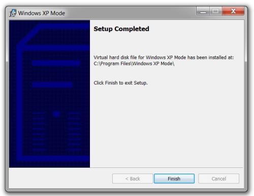 Windows XP Mode 09