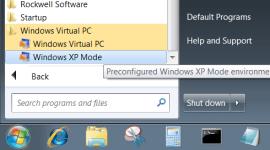 Windows XP Mode 10