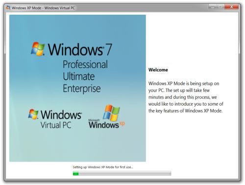Windows XP Mode 15